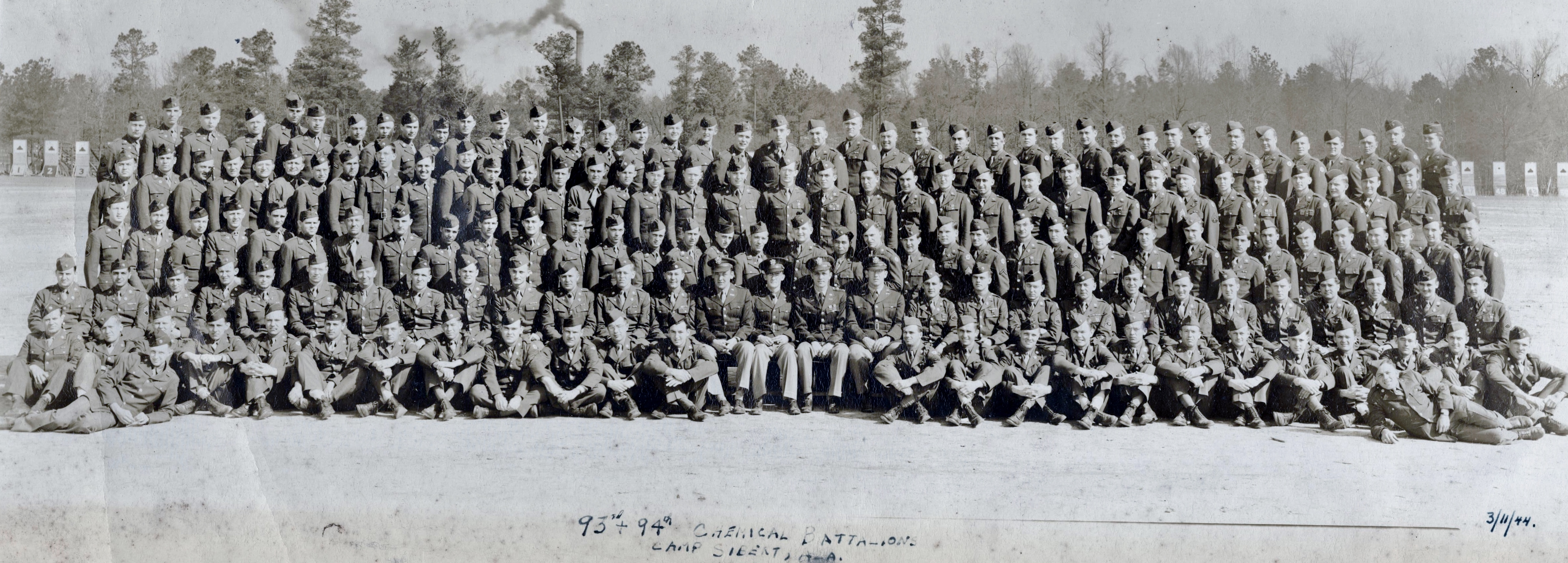 93rd & 94th CMB at Camp Sibert